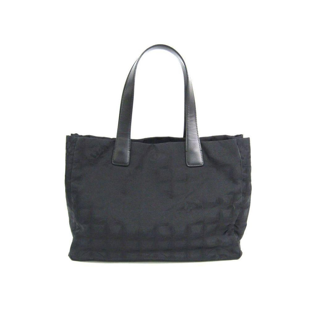 シャネル(Chanel) ニュートラベルライン A15991 レディース キャンバス,ナイロン トートバッグ ブラック