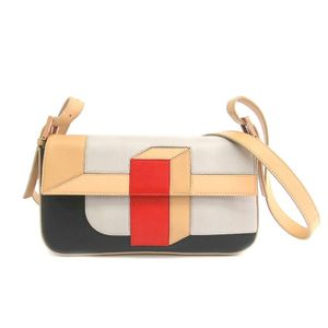 Fendi Baguette 8BR600 Women's Shoulder Bag Black,Beige,Pale Orange,Red
