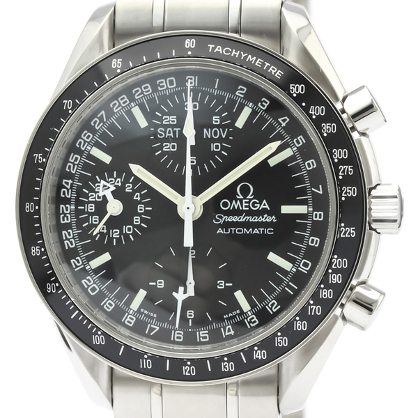 【OMEGA】オメガ スピードマスター マーク40 ステンレススチール 自動巻き メンズ 時計 3520.50