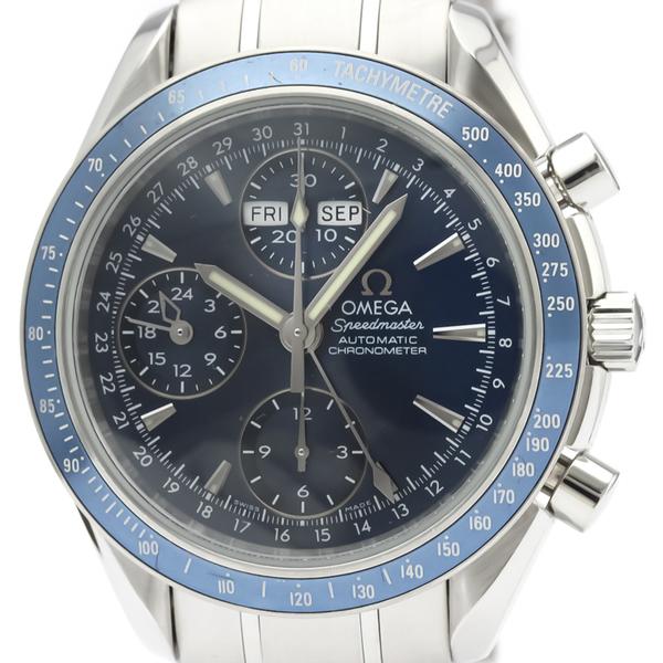 【OMEGA】オメガ スピードマスター デイデイト ステンレススチール 自動巻き メンズ 時計 3222.80