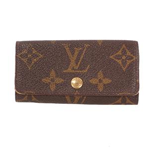 Louis Vuitton Monogram Multicles 4 M62631 Men,Women,Unisex Monogram Key Case Monogram