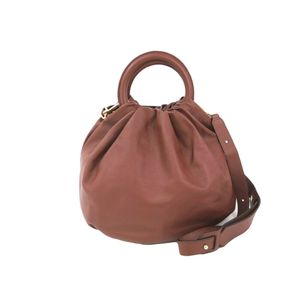 Loewe 332.10.L38 Bounce Large Bag Unisex Handbag Brown