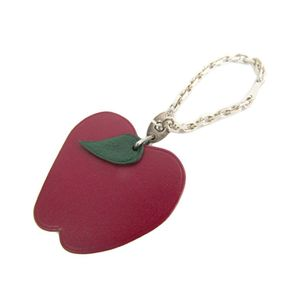Hermes Keyring (Green,Red) Fruits & Vegetables Apple