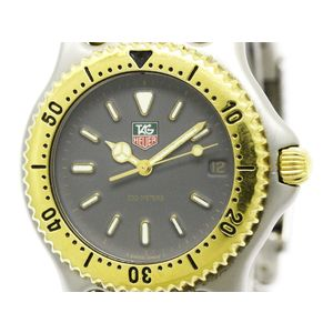 Tag Heuer Sel Quartz Stainless Steel,Gold Plated Men's Dress Watch S95.206