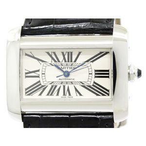 Cartier Tank Divan Automatic Stainless Steel Men's Dress Watch W6300755