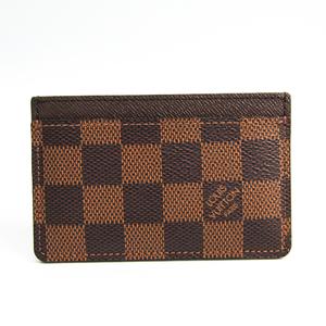 ルイ・ヴィトン(Louis Vuitton) ダミエ ポルト カルト・サーンプル N61722 ダミエキャンバス カードケース エベヌ