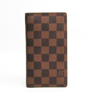 ルイ・ヴィトン(Louis Vuitton) ダミエ アジェンダドゥポッシュ 手帳 エベヌ R20703