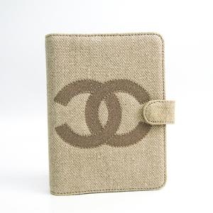シャネル(Chanel) 手帳 ベージュ ココマーク