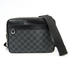 ルイ・ヴィトン(Louis Vuitton) ダミエ・グラフィット トロカデロ・メッセンジャー PM N40087 メンズ メッセンジャーバッグ ダミエ・グラフィット