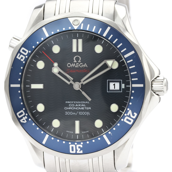 【OMEGA】オメガ シーマスター プロフェッショナル 300M コーアクシャル ステンレススチール 自動巻き メンズ 時計 2220.80
