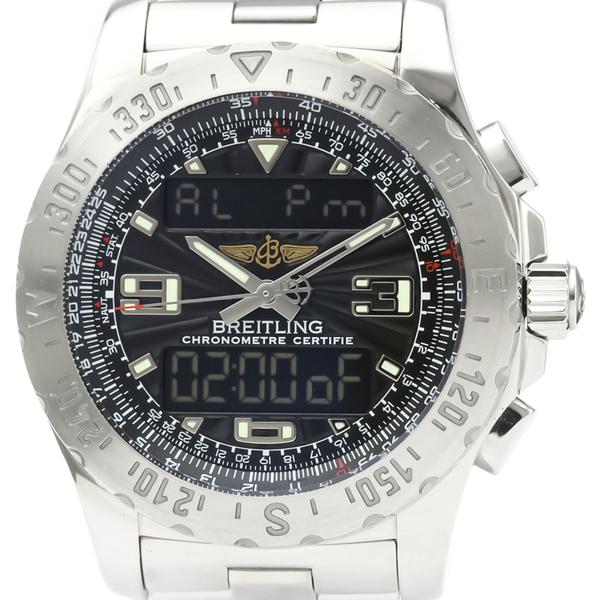 ブライトリング(Breitling) エアウルフ クォーツ ステンレススチール(SS) メンズ スポーツウォッチ A78363