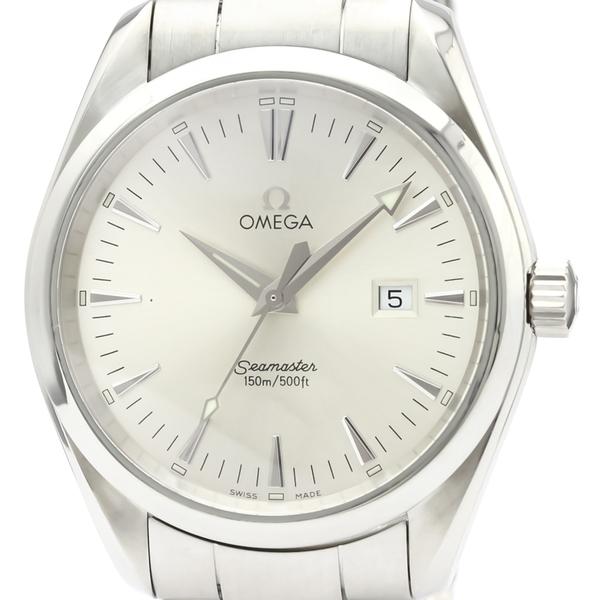 【OMEGA】オメガ シーマスター アクアテラ ステンレススチール クォーツ メンズ 時計 2517.30