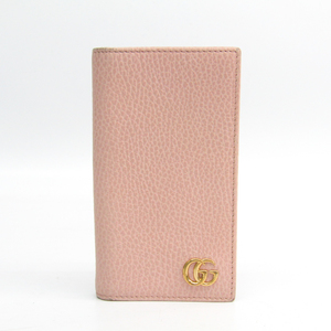 Gucci GG Marmont Leather Phone Flip Case For IPhone 7 Pink 476778