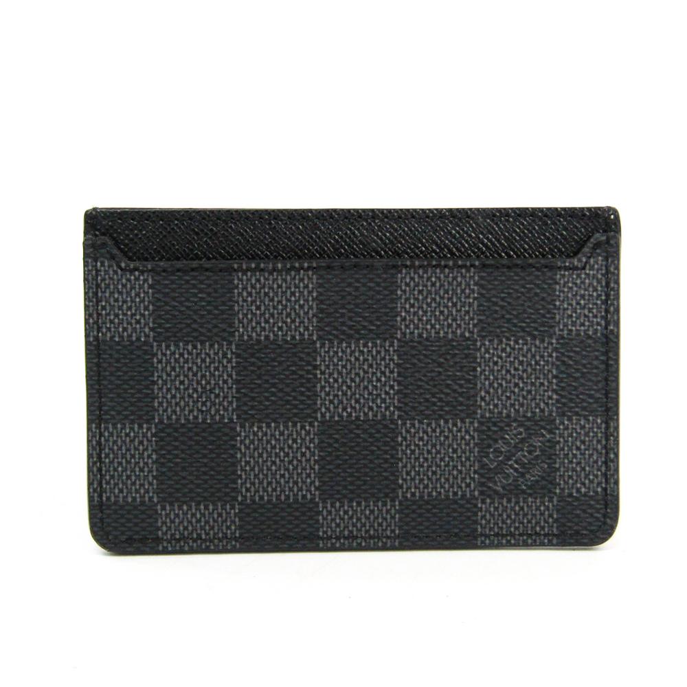 ルイ・ヴィトン(Louis Vuitton) ダミエグラフィット ネオ・ポルト カルト N62666 ダミエグラフィット カードケース ダミエ・グラフィット