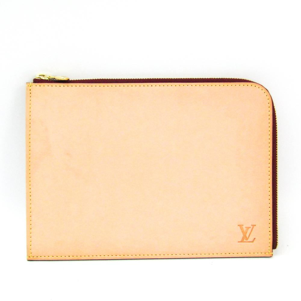 ルイ・ヴィトン(Louis Vuitton) ポシェット・ジュールPM ユニセックス クラッチバッグ ベージュ