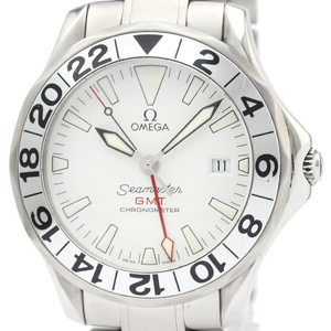OMEGA Seamaster 300M GMT Steel Automatic Mens Watch 2538.20