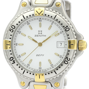 Zenith Defy Quartz Gold Plated,Stainless Steel Men's Dress Watch 59.2000.337