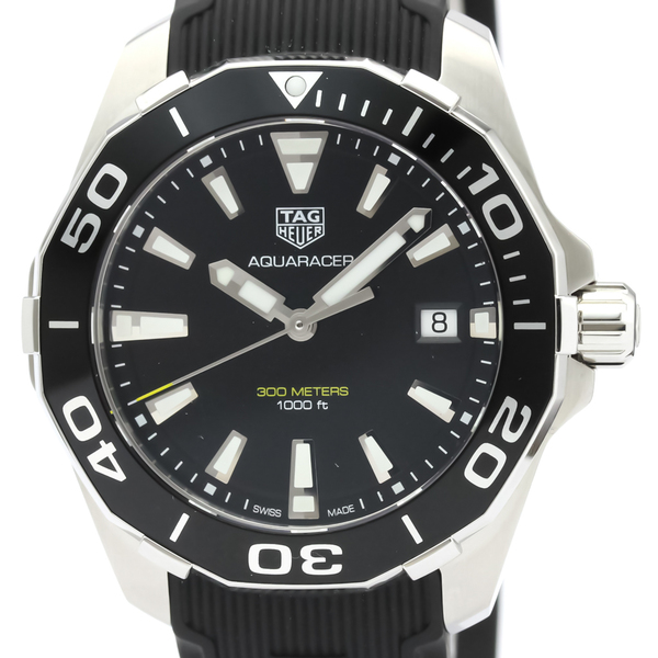 Tag Heuer Aquaracer Quartz Stainless Steel Men's Sports Watch WAY111A