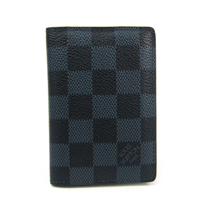Louis Vuitton Damier Cobalt  Card Case Damier Cobalt Pocket Organizer N63210