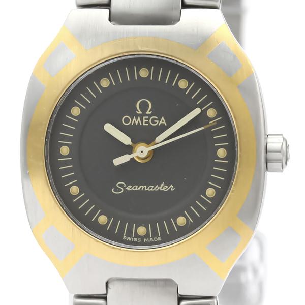 OMEGA Seamaster Polaris 18K Gold Steel Ladies Watch 795.1022