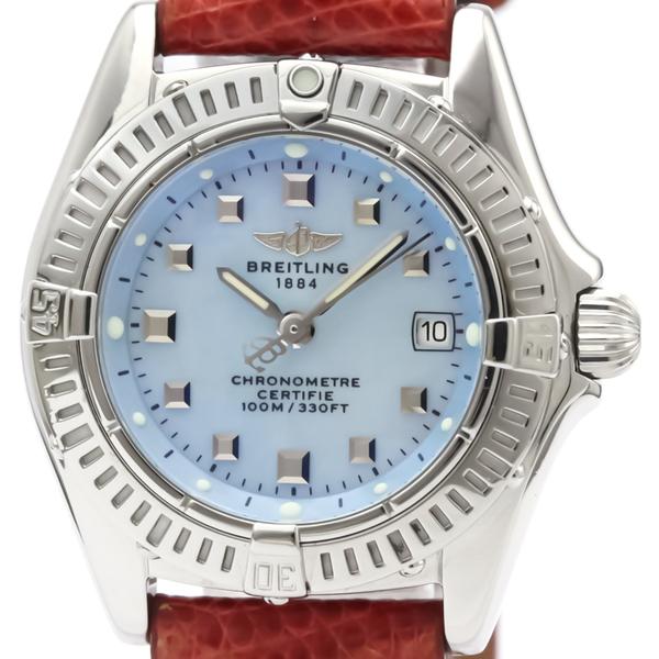 Breitling Callistino Quartz Stainless Steel Women's Sports Watch A72345
