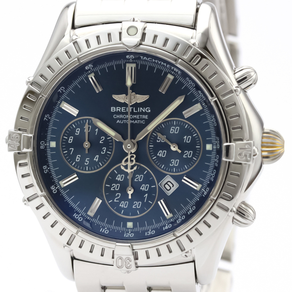 Breitling Shadow Automatic Stainless Steel Sports Watch A35312