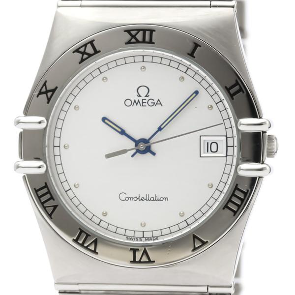 Omega Constellation Quartz Stainless Steel Men's Dress Watch 396.1070