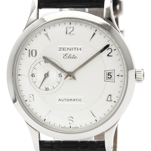 Zenith Elite Automatic Stainless Steel Men's Dress Watch 01/02.1125.680