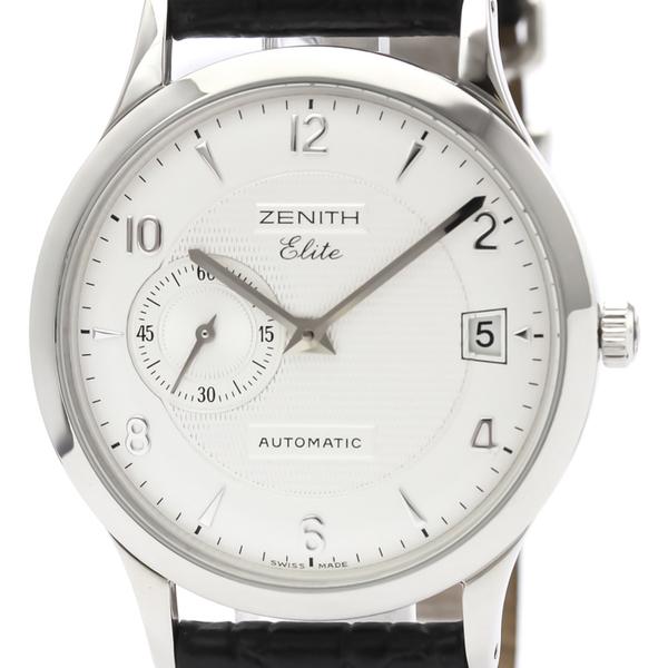 Zenith Elite Automatic Stainless Steel Men's Dress Watch 01/02.1125.680