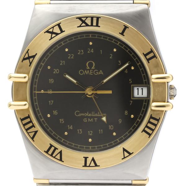 Omega Constellation Quartz Stainless Steel,Yellow Gold (18K) Men's Dress Watch 396.1060