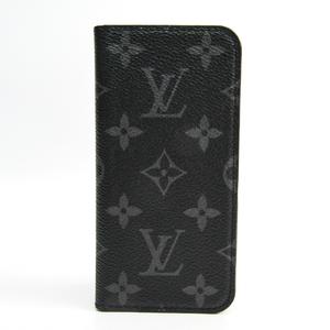 Louis Vuitton Monogram Eclipse Monogram Eclipse Phone Flip Case For IPhone 7 Monogram Eclipse iPhone 7 Folio M62640
