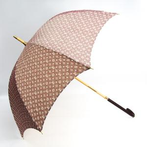 Louis Vuitton Parasol LV Arc En Ciel Monogram Idyle Sun Umbrella Sepia