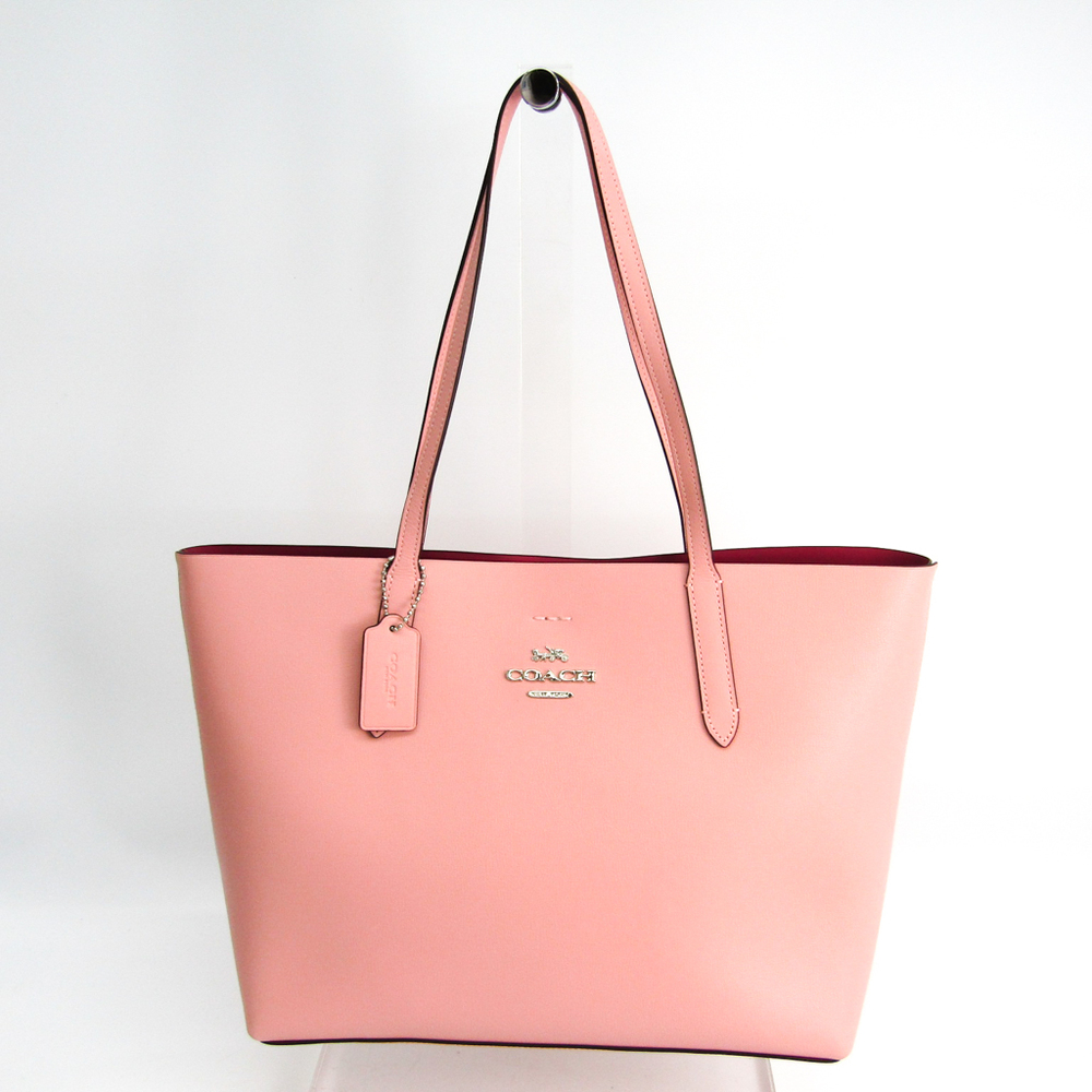 Coach Avenue Tote Shoulder Bag F31535 Women S Leather Tote Bag Pink Elady Com