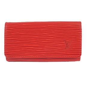 Auth Louis Vuitton Key Case Epi Multicles4  M63827
