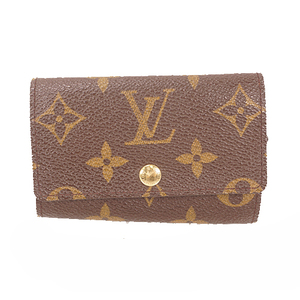 Louis Vuitton Monogram M62630 Men,Women,Unisex Monogram Key Case Monogram