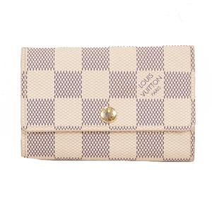 Louis Vuitton Damier Azur Multicles 6 N61745 Women's  Key Case Damier Azur