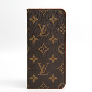 Louis Vuitton Monogram Monogram Phone Flip Case For IPhone 7 Plus Rouge IPHONE 7 Plus 8 Plus Folio M63404