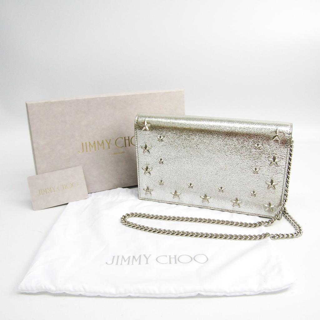 ジミーチュウ(Jimmy Choo) GTU J000094403001 レディース レザー ショルダーバッグ シャンパン