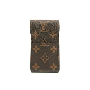 Louis Vuitton Monogram Etui Cigarettes Tobacco Case Accessory M63024