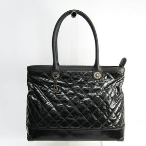 シャネル(Chanel) マトラッセ A67259 レディース レザー,PVC トートバッグ ブラック