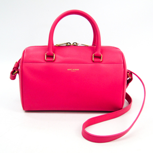 Saint Laurent Baby Duffle 330958 Women's Leather Handbag Pink