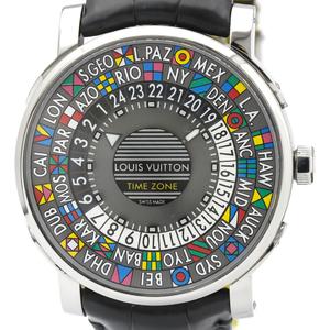 ルイ・ヴィトン (Louis Vuitton) エスカル 自動巻き ステンレススチール(SS) メンズ ドレスウォッチ Q5D20
