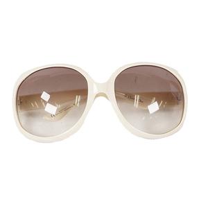 クリスチャンディオール サングラス N5A02 ホワイト/ブラウン