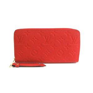 Louis Vuitton Monogram Empreinte M61865 Zippy Wallet Women's Long Wallet (bi-fold) Cerise