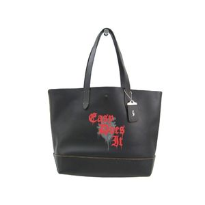 Coach 58929 Gotham Tote Grab Calf Leather With Wild Love Print Men's Tote Bag Red,Black