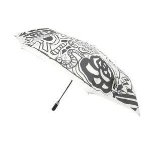 Chanel Compact/folding Rain Umbrella White,Black