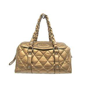 Chanel Women's Handbag Bronze