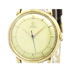 Omega Automatic Pink Gold (14K) Men's Dress Watch 2643