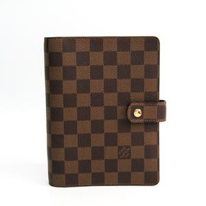ルイ・ヴィトン(Louis Vuitton) ダミエ 手帳 エベヌ アジェンダMM R20240