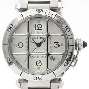 カルティエ(Cartier) パシャ 38 自動巻き ステンレススチール(SS) メンズ ドレスウォッチ W31040H3